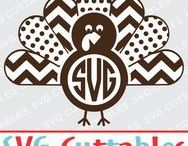 Thanksgiving svg cut files / Thanksgiving cut files for cutting machines like silhouette Cameo or Cricut.