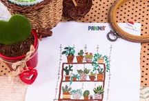 Embroidery | Needlework | Вышивка гладью / PANNA Embroidery kits