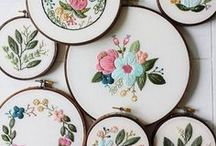 Modern embroidery / Современная вышивка / Modern embroidery projects and inspiration / Идеи и вдохновение в вышивке