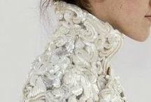 Bonnie Cashin, Dior, Missoni, Oscar de la renta, Valentino, Versace, Chanel / & Chanel, Armani, YSL, Gucci, Pucci, Hermes
