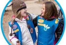 Girl Scout Daisies / Badge/Journey earning activities and meeting ideas for Daisies