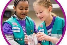 Girl Scout Juniors / Badge/Journey earning activities and meeting ideas for Juniors