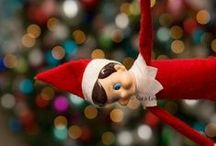 ELF on the Shelf Ideas / Ideas for your Christmas Elf on The Shelf.