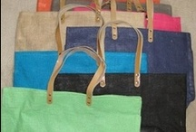 Bags, purses and Totes / handmade and store bought carry alls