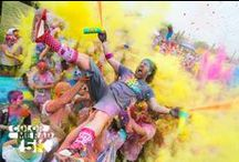 Color Me Rad 5K / It's a blitzkrieg of color guaranteed to lift your spirits better than Zoloft or balloon animals.  / by Color Me Rad 5K