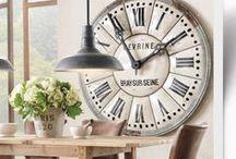 Vintage clocks & fans