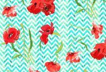 Fabrics, Textiles, Repeat Patterns