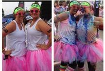 Before and After Color Me Rad / Not only do you feel RADDER after Color Me Rad, but you look it. Here's a collection of our favorite before and afters, made by you!  / by Color Me Rad 5K