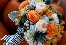 Wedding Ideas - Autumn 2: Blue and Orange / by Elizabeth S.