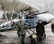 WW1 deutsche Flugzeuge