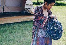 Boho Chic / Bohemian, free spirit, summer, festival fashion.