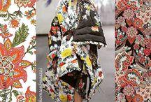 Catwalk Inspiration / Sleeping bag inspired outerwear.