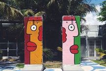 Ironside Neighbors / Just a taste of the art and shops you'll find in the vibrant Miami Ironside neighborhood. http://www.miamiironside.com