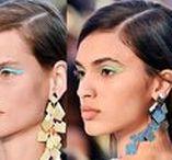 2018 Makyaj Trendleri / Yaz Makyajı 2018, Moda Ruj Renkleri 2018, 2018 Makyaj Modası,Ruj Modası,2018 Makyaj Modası,2018 Yaz Makyaj Modası  İşte 2018 Yılı Moda Şovlarında En Çok Dikkat Çeken Makyaj Görünümleri;