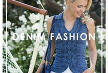 Denim Fashion / Qu'est ce qui va avec tout, qui est indémodable et simplement superbe sur tout le monde ? C'est le Denim.  Notre nouvelle ligne a été créée en 100% coton. D'une grande douceur, pour un confort optimal !