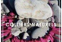 """Colliers Naturels / Nos colliers sont uniques ! Fabriqués en écorce d'orange, en grains de café ou avec une plante appelée """"Tahua"""", ils embaumeront vos vêtements ou votre intérieur ! Un partenaire idéal !"""