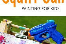 Art avec enfants