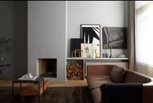 Living Spaces / Living areas, dining and hallways.