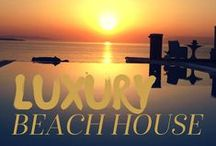 Luxury Beach Houses & Retreats / The beach is a space of generation, generosity and gentle, playful genius moments inspired by the space and magic of having nowhere to be and nothing to do. What contribution can the luxury of *being* be to you? #beachhouse #retreats #dailyretreat #creationcatalyst #nurtureyou #alchemy www.CreativityLab.tv