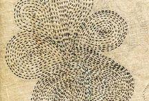 Textiles / fiber arts, embroidery, weavings, fabrics