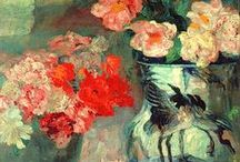 Flower painting / painting and works on paper of flowers and still lifes