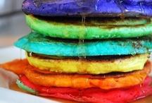 Rainbow Recipes / Taste the rainbow