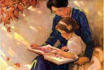 ARTISTWillcox Smith / Jessie Willcox Smith (September 6, 1863 – May 3, 1935) was a United States illustrator famous for her work in magazines such as Ladies Home Journal and for her illustrations for children's books.  She was a prolific contributor to books and magazines during the late nineteenth and early twentieth centuries, illustrating stories and articles for clients such as Century, Collier's Weekly, Leslie's Weekly, Harper's, McClure's, Scribners, and the Ladies' Home Journal.