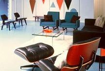 """DESIGNERCharles & Ray Eames / Charles Ormond Eames, Jr (1907–1978) and Bernice Alexandra """"Ray"""" Eames (1912–1988) were American designers, who worked in and made major contributions to modern architecture and furniture. They also worked in the fields of industrial and graphic design, fine art and film."""