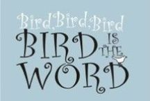 Bird is the Word / depictions of birds, nests, or eggs / by Bard Judith