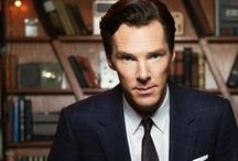 That's right, Cumberbatch!!! / Because I can't get enough of Benedict! / by Victoria Gibbs