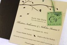 Our Save the Dates / The purpose of a Save the Date is to inform guests of your upcoming wedding and for them to mark their calendars. Typically sent out six months to a year prior to the wedding date.