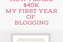 TO READ: BLOGGING TIPS / Pages I need to read and review.
