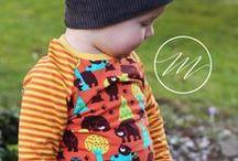 Camiseta Rayas Amarillo / Naranja - Lillestoff / Prendas elaboradas con la tela Ringeljersey - orange/gelb de Lillestoff