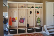 home - garage / park & store / by Heather Chambers
