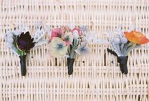 Boutonnieres for the Guys / by The Bride's Cafe