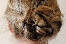 hair - styles / twist & pin / by Heather Chambers