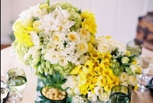 Yellow Flowers / Yellow floral inspiration for weddings, events & decor.  / by The Bride's Cafe