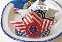 Holiday | Memorial Day - 4th Of July / Vintage flair to Patriotic Holidays! :)
