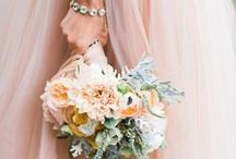 Pastel Peach/Pink Flowers / Pastel flower inspiration for weddings, events & decor.  / by The Bride's Cafe