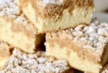 coffee and crumb cakes