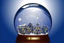 Globo de neve/Snow  Globe / EU ADORO BOLAS DE NEVE