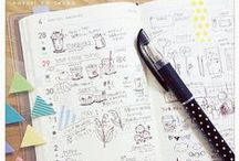 DIY Crafts| Doodles,Drawing n' Art Journaling / Techniques and inspiration.
