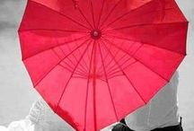Sombrinhas-parapluie-ombrello-umbrella / by Regina