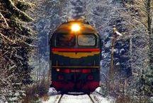 Amo trens***Love trains