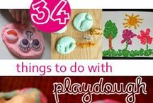 Play Dough Fun / ¬ All things play dough, clay, goop, slime, oobleck, floam, flubber, salt dough and many more ¬ / by Vivi ©