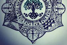 Zentangles and mandalas / Zentangles and mandalas   / by Susan Tümkaya