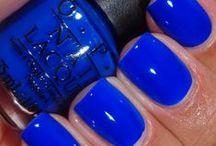 polish - blues / by Heather Chambers