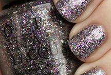 polish - glitters / by Heather Chambers