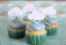 """Baby Shower Ideas / I like the """"shower"""" theme :) Less cutesy, more pretty :)  I also like the foresty theme but I like the shower, rain, umbrellas one better  Also Mike wants to be a part of it and I want him there do can we make it a couples shower? / by Shay Lynam"""