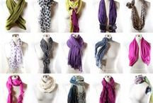 style - scarves / drape & knot / by Heather Chambers